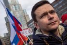 Ruský opoziční politik Ilja Jašin