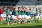 Fotbalisté Jablonce slaví výhru