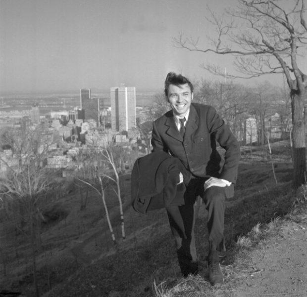 Karel Gott v roce 1967 v Montrealu