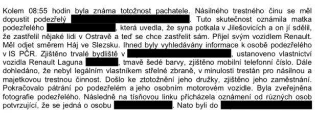 Ctirada V. na policii nahlásila jeho matka