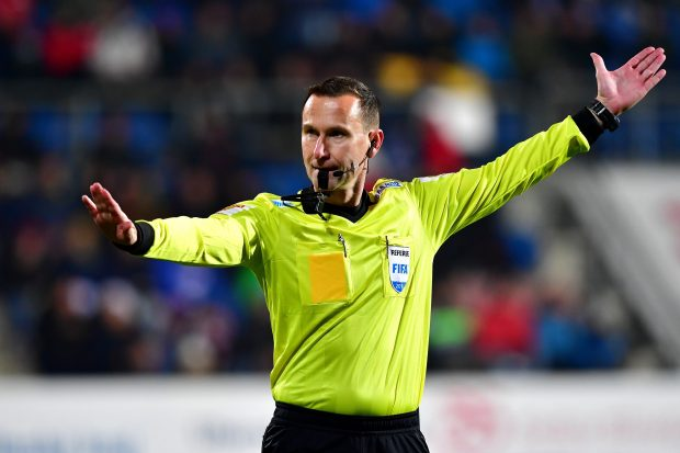 Uznávaný fotbalový rozhodčí Radek Příhoda