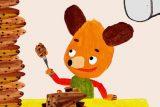 Když medvědy honí mlsná. Nový večerníček nabídne příběhy věčně hladových kamarádů