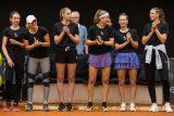 Druhý díl charitativního tenisového turnaje v Prostějově vyhrál opět černý tým Karolíny Plíškové