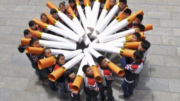 Čínské kouření