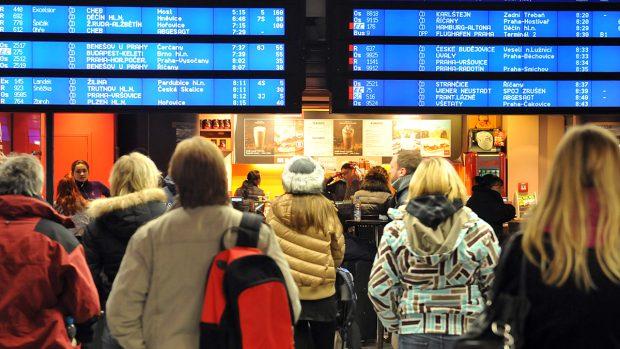 zpoždění vlaků čd