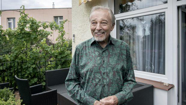 Karel Gott v létě 2019