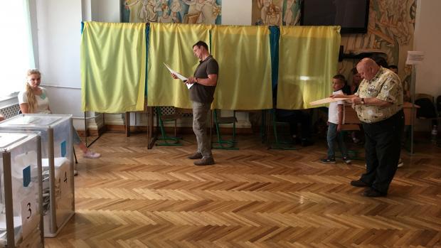 První oficiální výsledky se na webu ukrajinské ústřední volební komise.