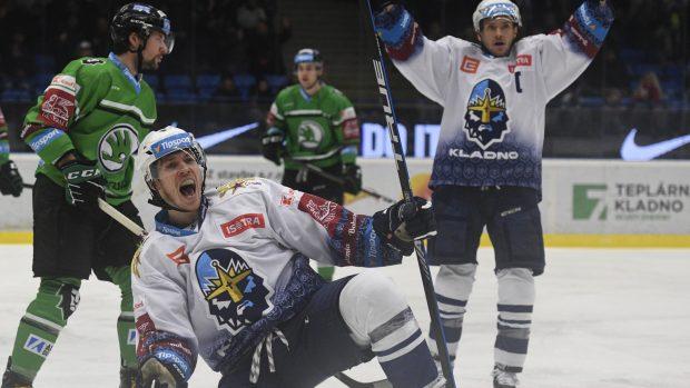 Hokejisté Kladna porazili Boleslav i bez Jágra, Karlovy Vary deklasovaly Vítkovice 9:1