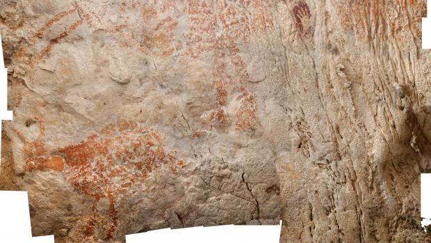 Nejstarsi Namalovane Zvire Objevili Vedci V Jeskyni Na Borneu Rudy