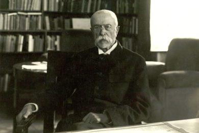 Masaryk poprvé v Bílém domě. Před 100 lety v něm diskutoval o Rusku s prezidentem Wilsonem