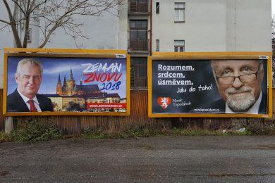 Havlová, Křetínský nebo Sekyra. Kdo prezidentským kandidátům platí kampaň?