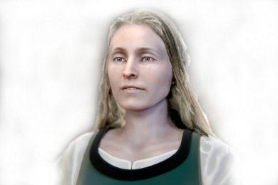 Před asi 400 lety zemřela při obléhání Tábora. Nyní můžete opět spatřit tvář neznámé ženy