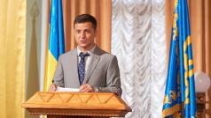 Trochu Kosmo, trochu Dům z karet. Ukrajina v televizním seriálu sní o lepší zemi a lepších politicích