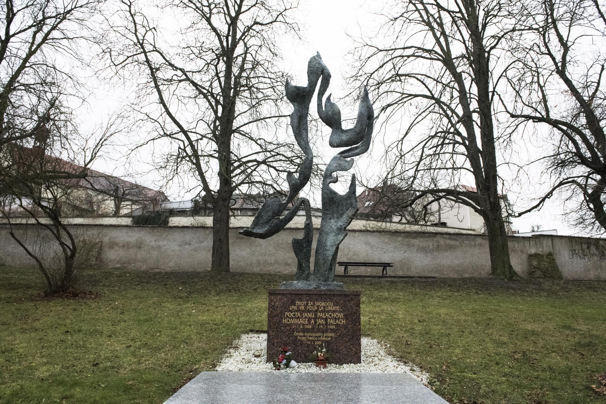 Pomník Jana Palacha, Mělník