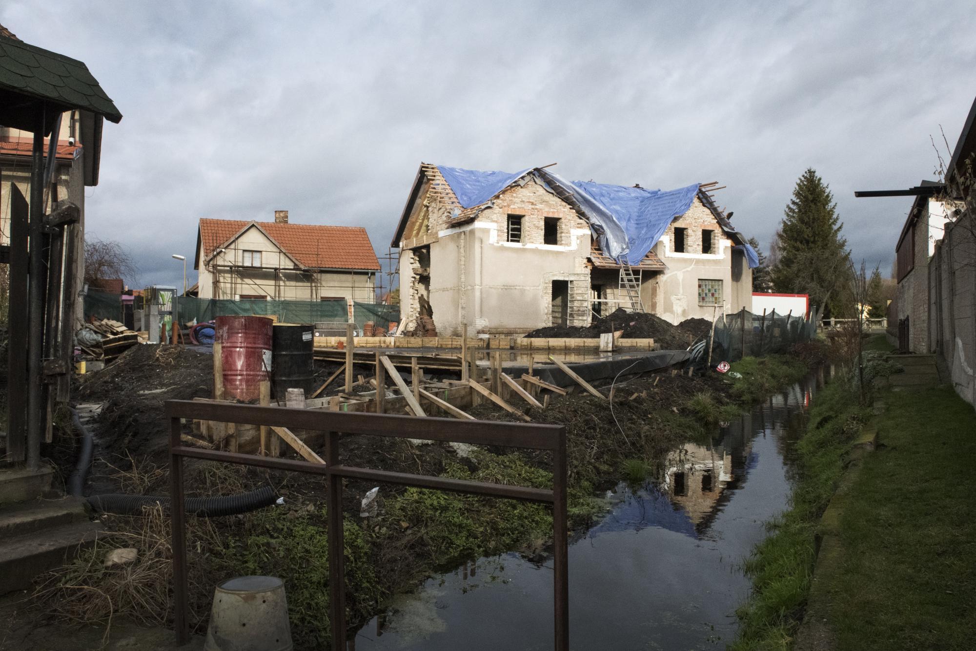Palachův rodný dům ve Všetatech