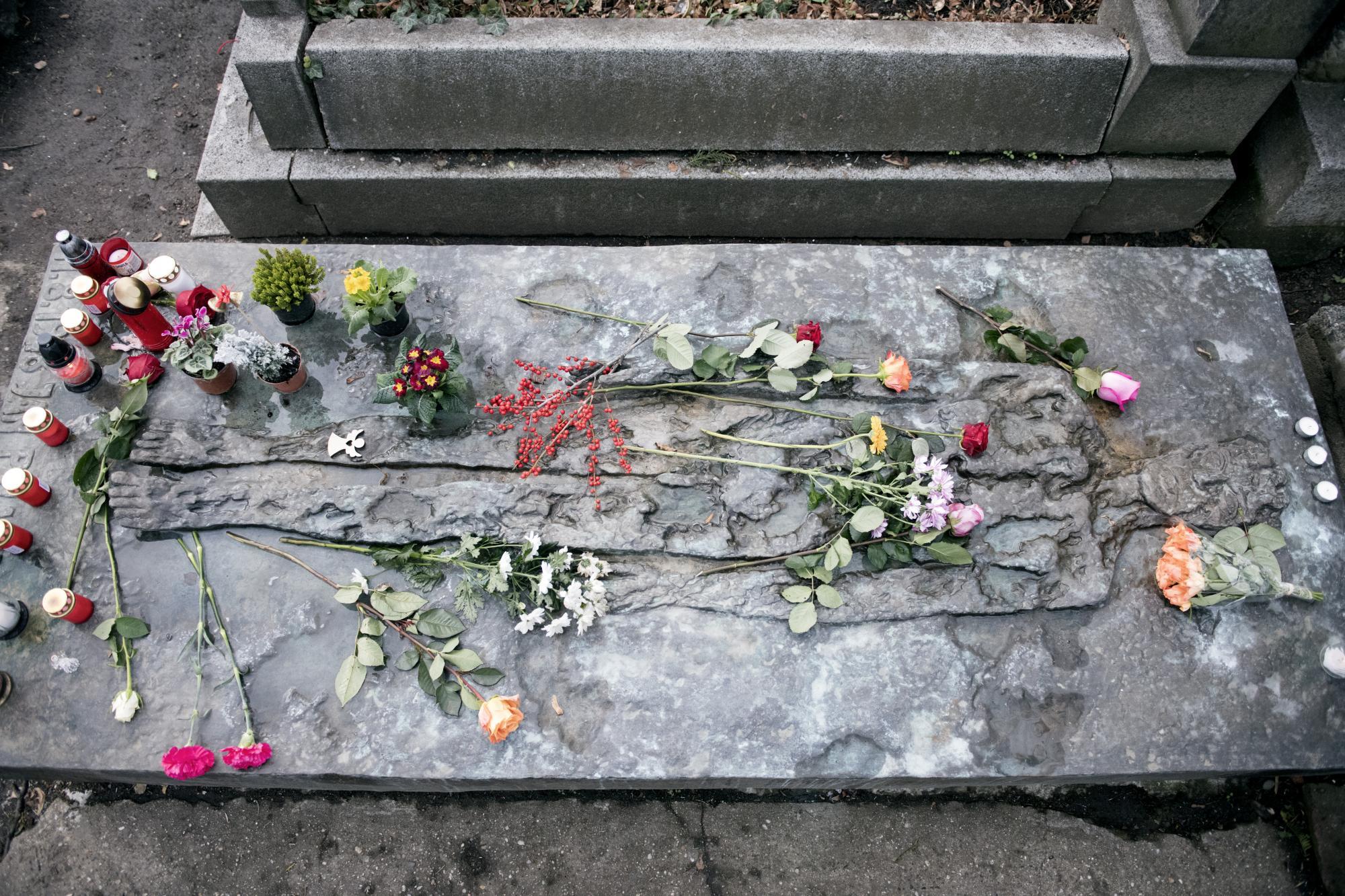Hrob Jana Palacha, Olšanské hřbitovy.
